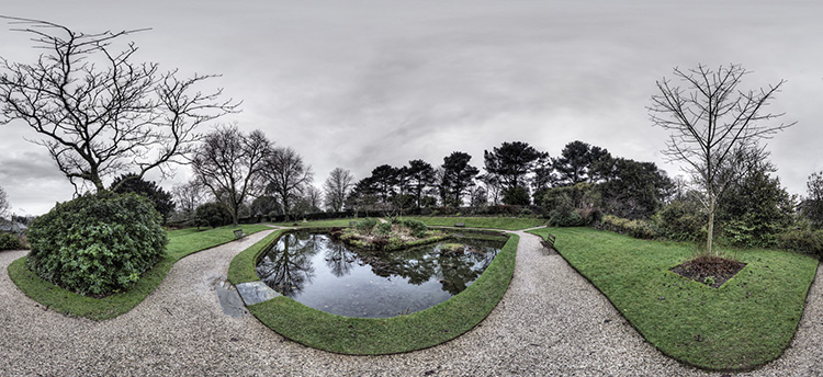 Cotehele house ornamental pond mark blundell photography for Ornamental pond