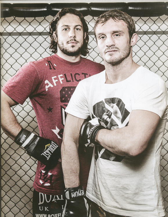 Brad Picket and Ashleigh Grimshaw for MMA Uncaged.