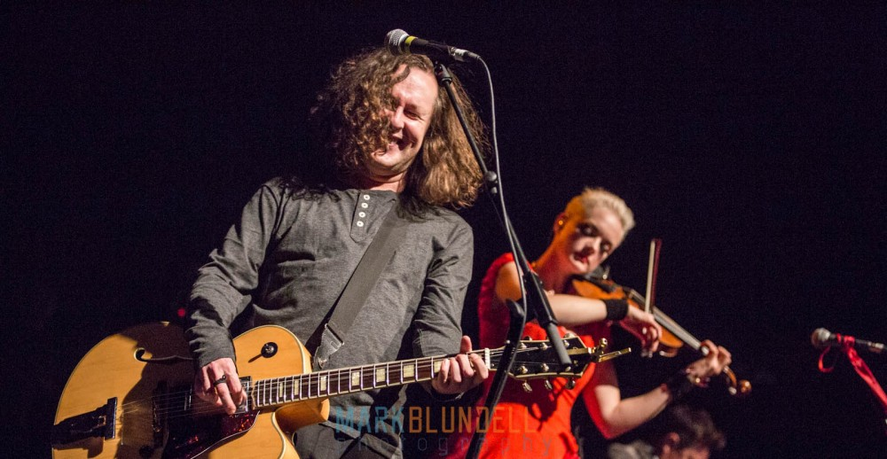 Miles Hunt and Erica Nockalls of The Wonder Stuff